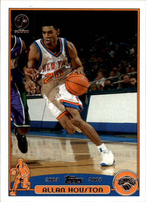 2003-04 Topps First Edition #39 Allan Houston