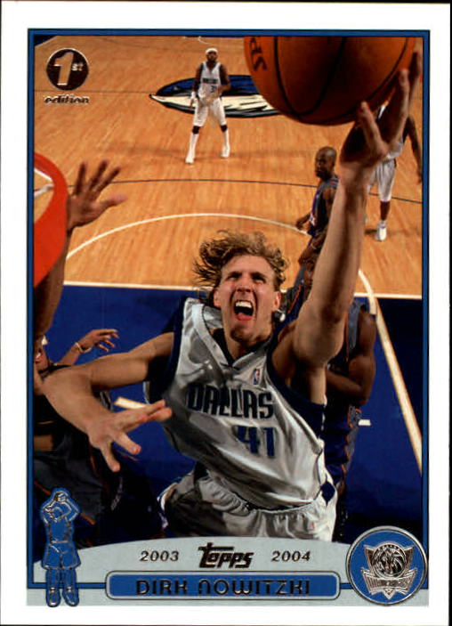 2003-04 Topps First Edition #41 Dirk Nowitzki