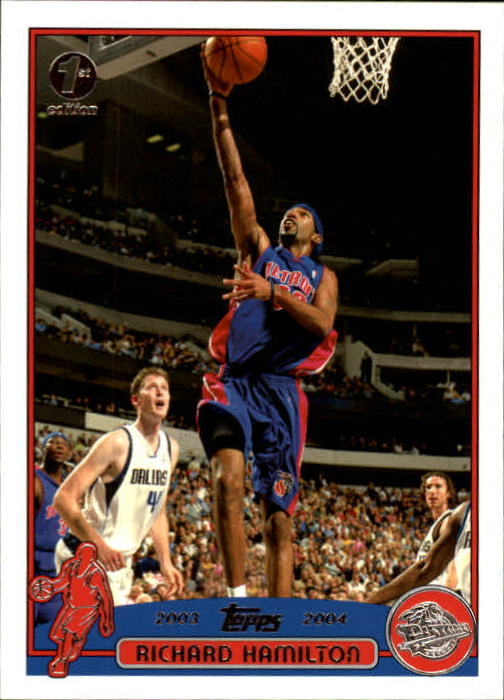 2003-04 Topps First Edition #46 Richard Hamilton