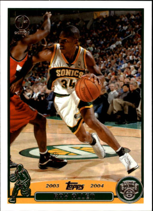 2003-04 Topps First Edition #48 Ray Allen