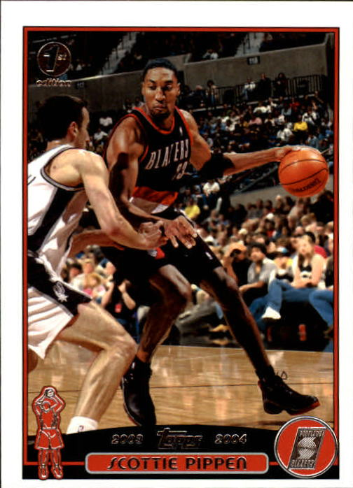 2003-04 Topps First Edition #49 Scottie Pippen