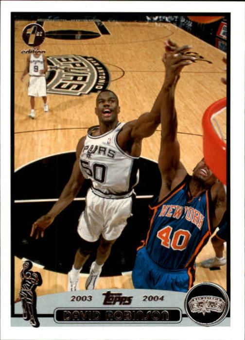 2003-04 Topps First Edition #50 David Robinson