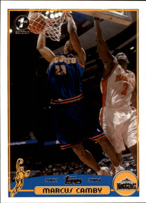 2003-04 Topps First Edition #53 Marcus Camby