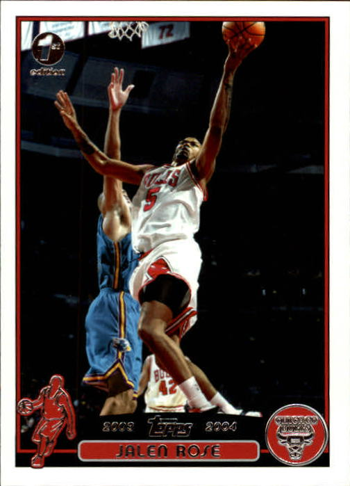 2003-04 Topps First Edition #54 Jalen Rose
