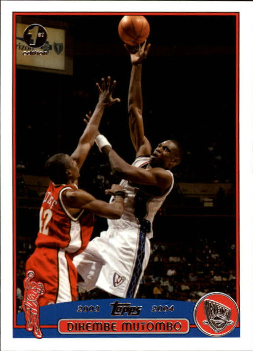 2003-04 Topps First Edition #55 Dikembe Mutombo
