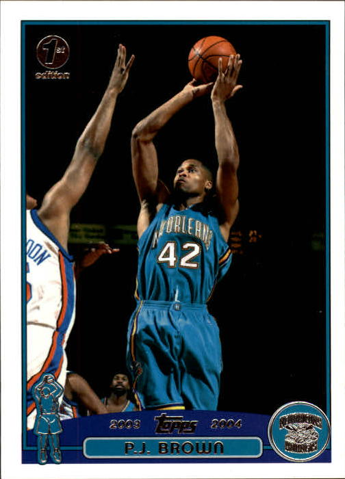 2003-04 Topps First Edition #56 P.J. Brown