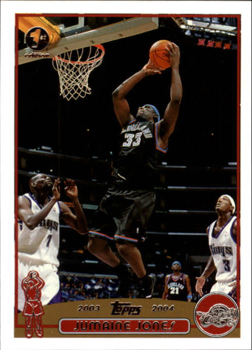 2003-04 Topps First Edition #57 Jumaine Jones