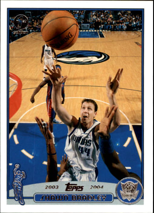 2003-04 Topps First Edition #58 Shawn Bradley