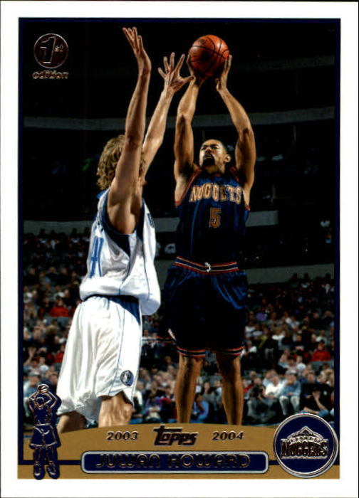 2003-04 Topps First Edition #59 Juwan Howard