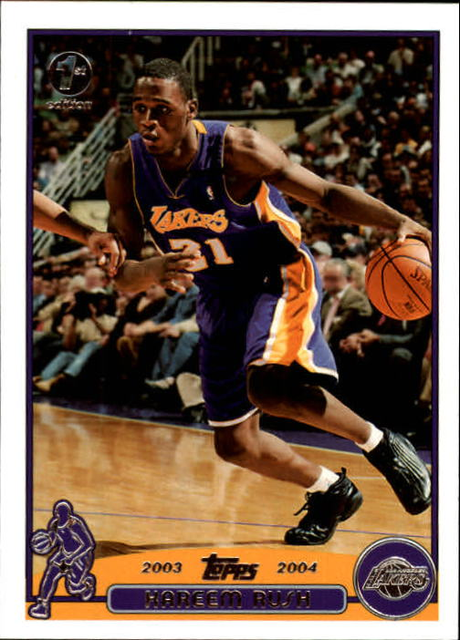 2003-04 Topps First Edition #63 Kareem Rush