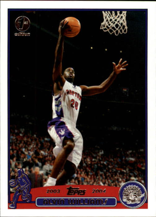 2003-04 Topps First Edition #71 Alvin Williams