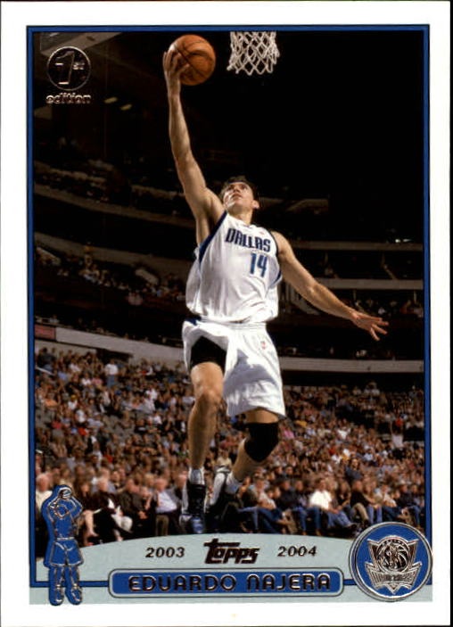 2003-04 Topps First Edition #83 Eduardo Najera
