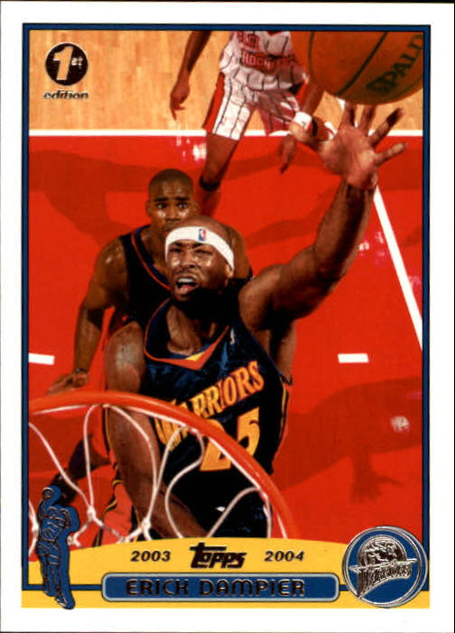 2003-04 Topps First Edition #85 Erick Dampier