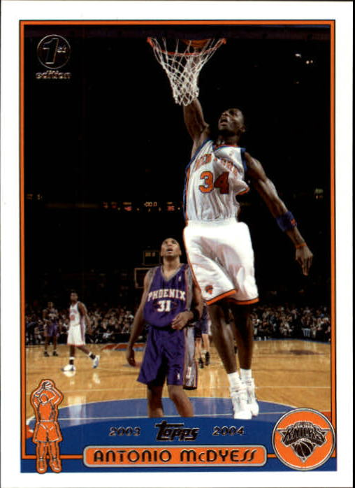 2003-04 Topps First Edition #89 Antonio McDyess