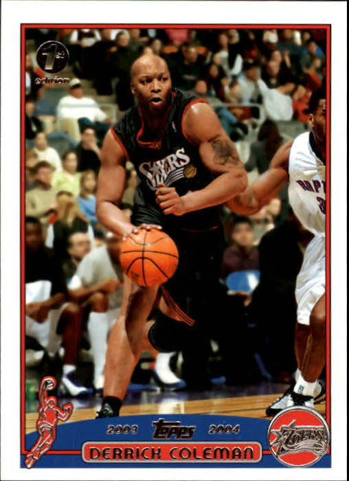 2003-04 Topps First Edition #90 Derrick Coleman