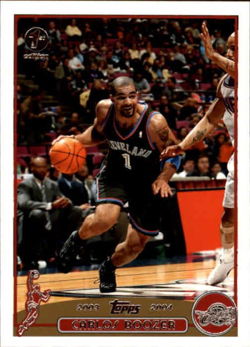 2003-04 Topps First Edition #91 Carlos Boozer