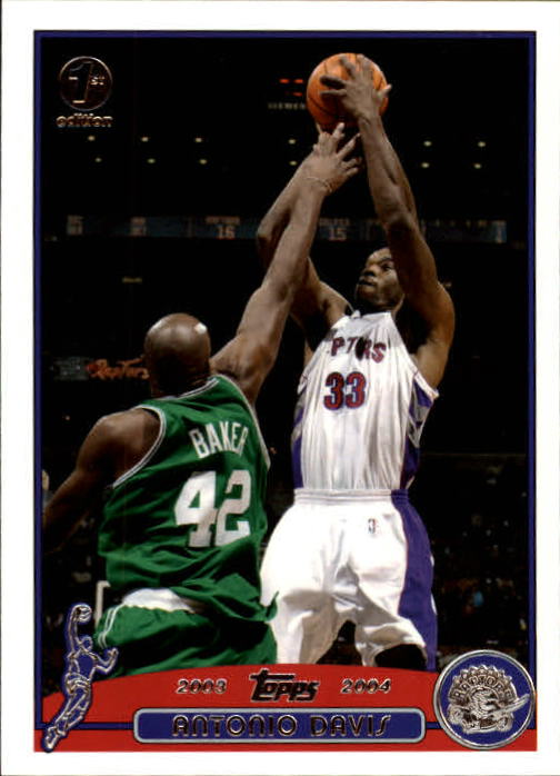 2003-04 Topps First Edition #93 Antonio Davis