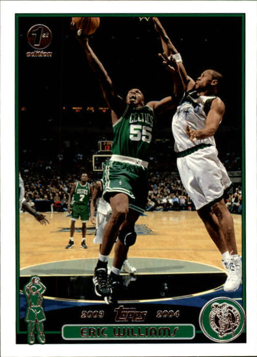 2003-04 Topps First Edition #96 Eric Williams