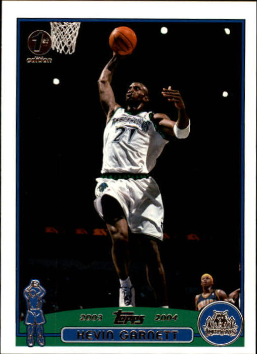 2003-04 Topps First Edition #100 Kevin Garnett
