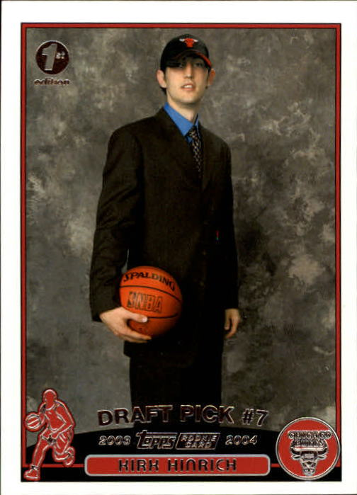2003-04 Topps First Edition #227 Kirk Hinrich