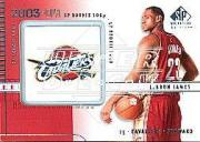 2003-04 SP Signature Edition #101 LeBron James RC