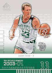 2003-04 SP Signature Edition #215 Larry Bird/33