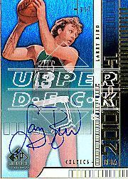 2003-04 SP Signature Edition Autographed Parallel #A6 Larry Bird/33