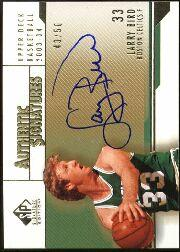 2003-04 SP Signature Edition Gold #6 Larry Bird