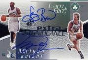 2003-04 SP Game Used Extra SIGnificance #MJLB Michael Jordan/Larry Bird