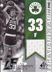2003-04 SP Game Used Legendary Fabrics #LBL Larry Bird