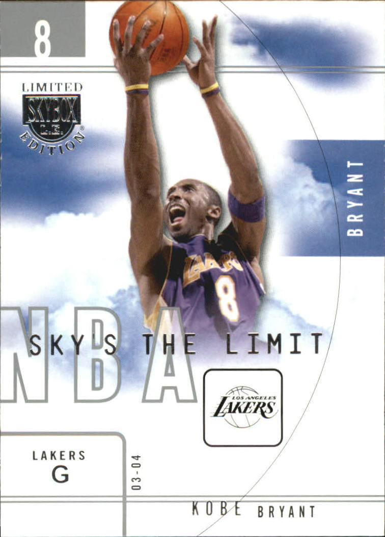 2003-04 SkyBox LE Sky's the Limit #8 Kobe Bryant