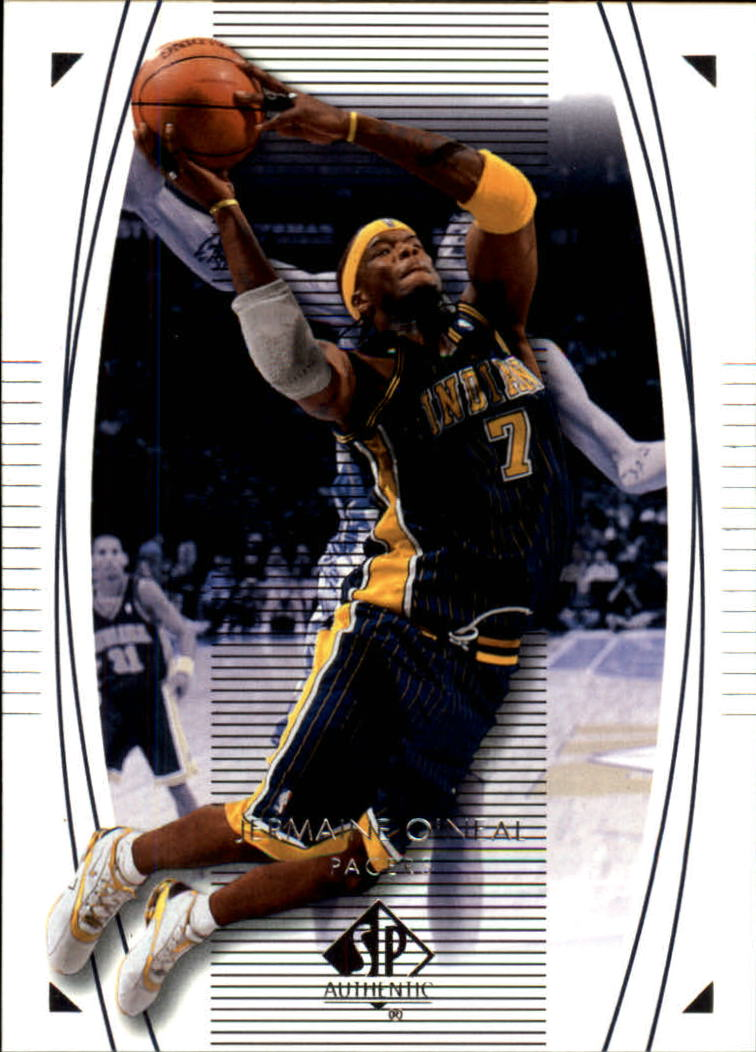 2003-04 SP Authentic #29 Jermaine O'Neal
