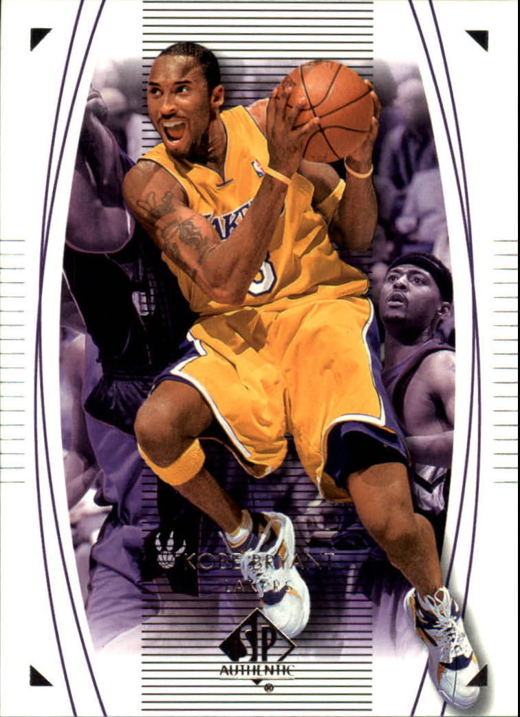 2003-04 SP Authentic #35 Kobe Bryant