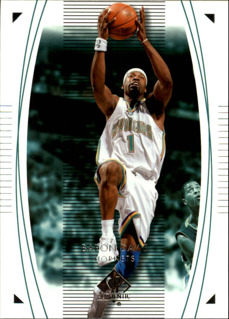 2003-04 SP Authentic #55 Baron Davis