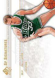 2003-04 SP Authentic Signatures #LBA Larry Bird