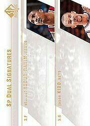 2003-04 SP Authentic Signatures Dual #AKA Shareef Abdur-Rahim/Jason Kidd