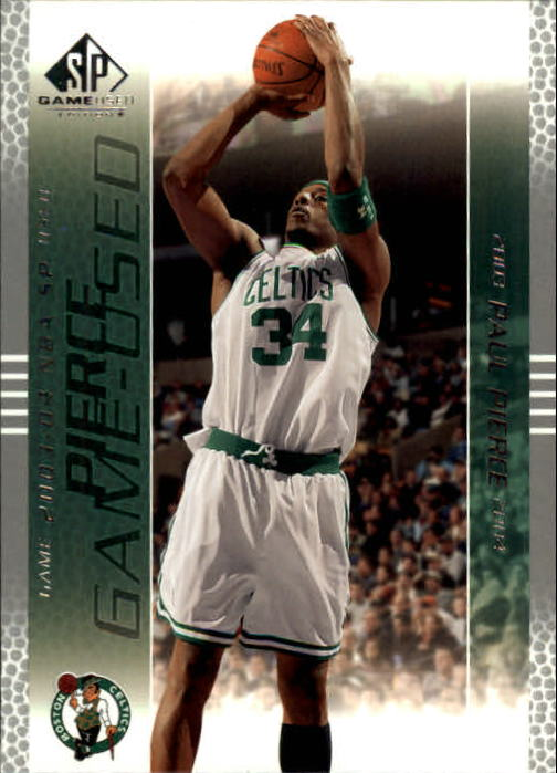 2003-04 SP Game Used #4 Paul Pierce