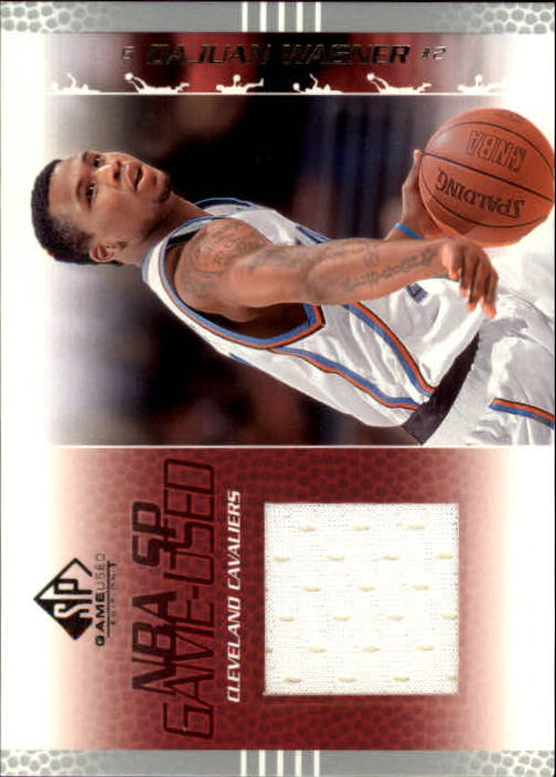 2003-04 SP Game Used #10 DaJuan Wagner JSY