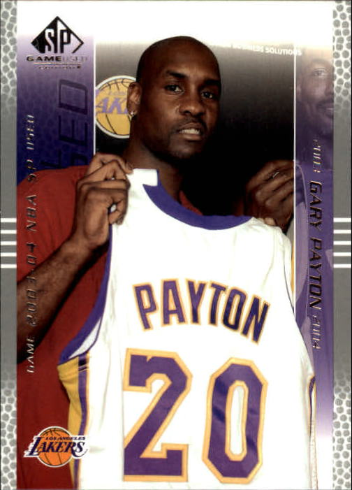 2003-04 SP Game Used #41 Gary Payton