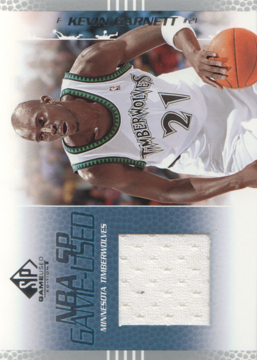 2003-04 SP Game Used #53 Kevin Garnett JSY
