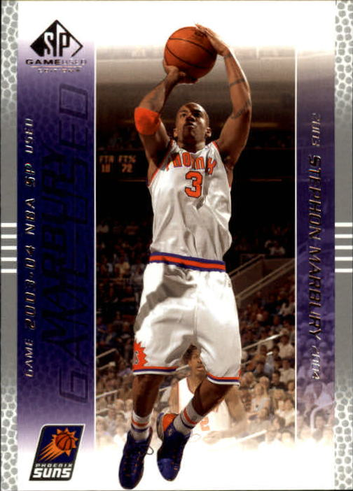 2003-04 SP Game Used #69 Stephon Marbury
