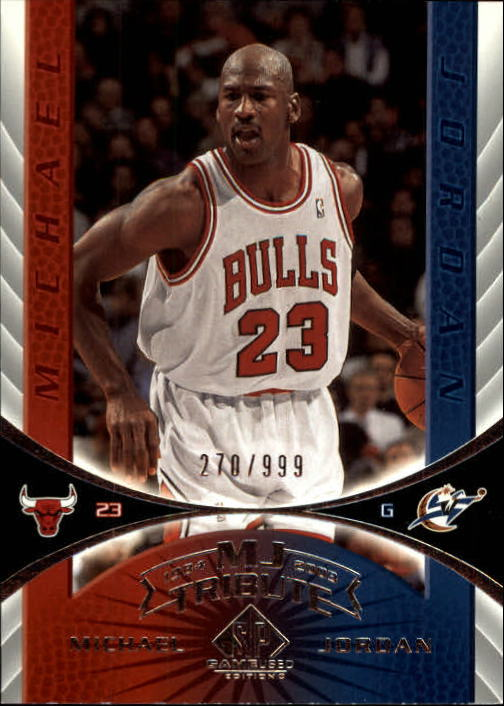 2003-04 SP Game Used #99 Michael Jordan Tribute