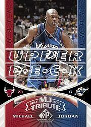 2003-04 SP Game Used #103 Michael Jordan Tribute