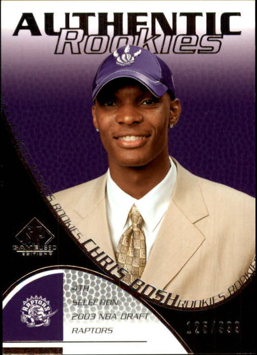 2003-04 SP Game Used #110 Chris Bosh RC