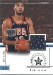 2003-04 SkyBox LE Championship MettLE #RGTD Tim Duncan