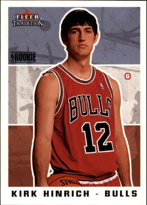 2003-04 Fleer Tradition #267 Kirk Hinrich RC