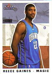 2003-04 Fleer Tradition #275 Reece Gaines RC