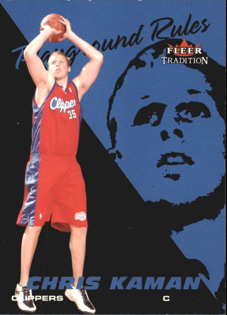 2003-04 Fleer Tradition Playground Rules #6 Chris Kaman