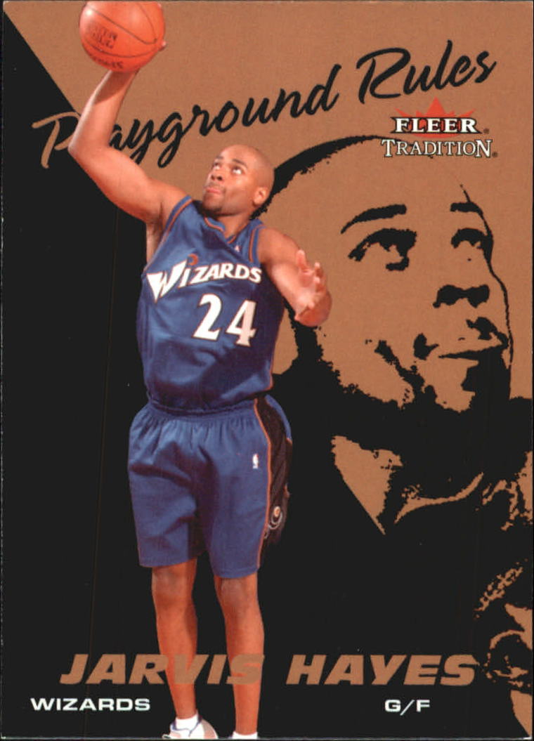 2003-04 Fleer Tradition Playground Rules #10 Jarvis Hayes