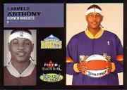 2003-04 Fleer Tradition Throwback Threads #1 Carmelo Anthony front image